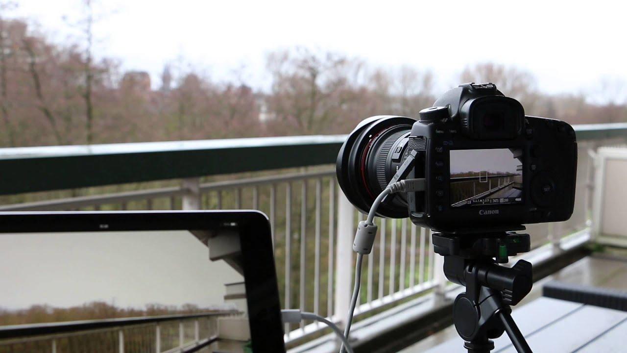 DSLR Controller - USB Video Monitor - iPad