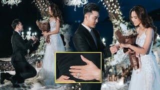 Ưng Hoàng Phúc trao nhẫn hơn 1 tỉ đồng cầu hôn bà xã Kim Cương bên bờ biển - TIN TỨC 24H TV