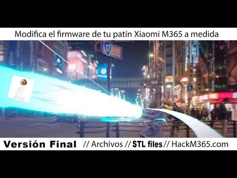 Xiaomi M365: cargar un firmware a medida - + control / +