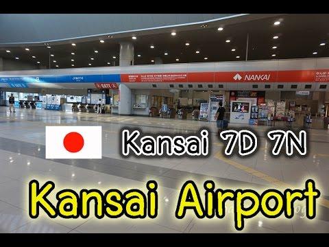 Kansai Day1(Ep2): Kansai Airport (overnight)