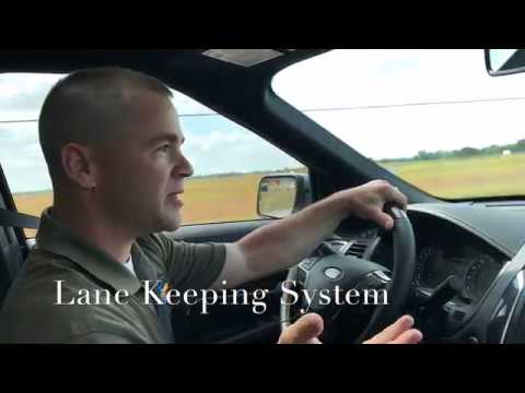 Lane Keeping System, 2018 Explorer