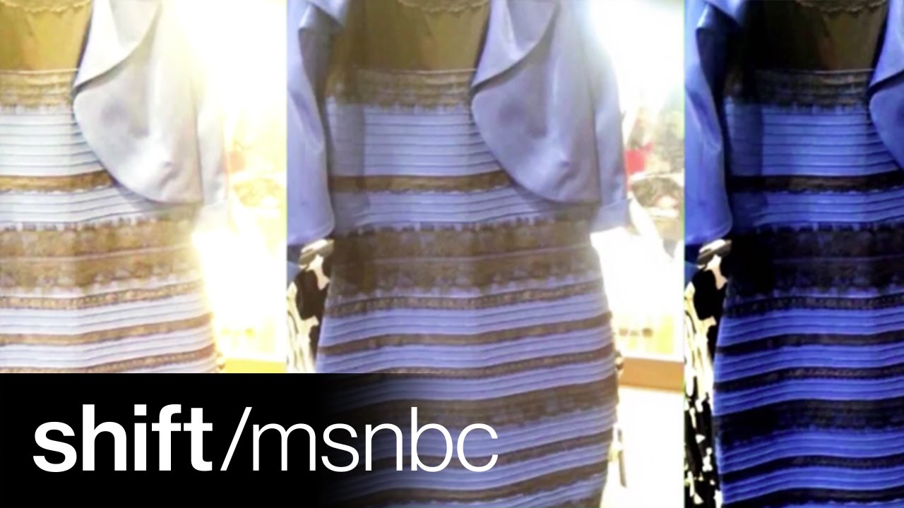 The dress controversy - Gold And White Or Blue And Black Dress Controversy