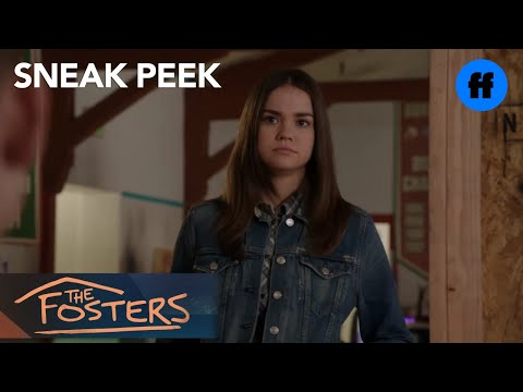 The Fosters | Season 4, Episode 15 Sneak Peek: Callie Explains Her Senior Project | Freeform