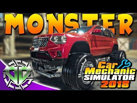 Car Mechanic Simulator 2018 : V8 Bolthorn Grand Mojave Monster Truck! Jeep Grand Cherokee! (PC)