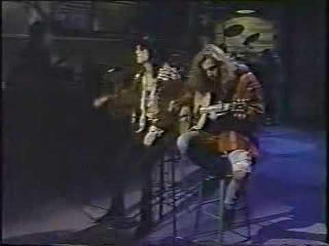 "Black Crowes ""She Talks To Angels"" - Letterman 1991"