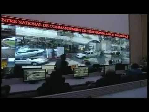 Inauguration d'un dispositif de vidéosurveillance au Cameroun