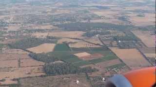 Easyjet, Palma, Majorca, landing