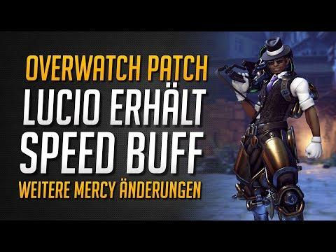 LUCIO SPEED BUFF | Neue Mercy Änderungen ★ LIVE PATCH VORGESTELLT ★ Overwatch Deutsch