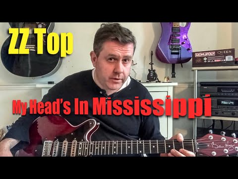 ZZ Top - My Head's In Mississippi - Guitar Lesson (Guitar Tab)