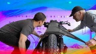 FORRANDO EL TANQUE DE MI MOTO!! | JUCA