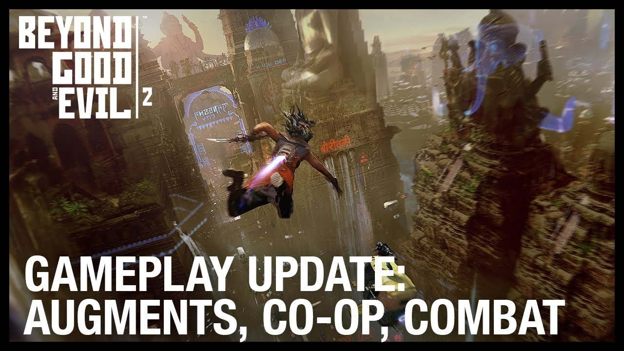 Beyond Good and Evil 2: New Gameplay Update - Augments, Vehicles, Co-Op, and Spyglass | Ubisoft [NA]