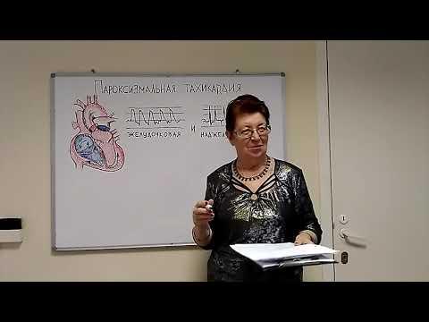 Пароксизмальная тахикардия. Лекция Михайловой Р. И.