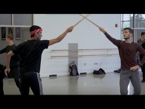 INSIDE LOOK | Sword Fighting in Romeo & Juliet