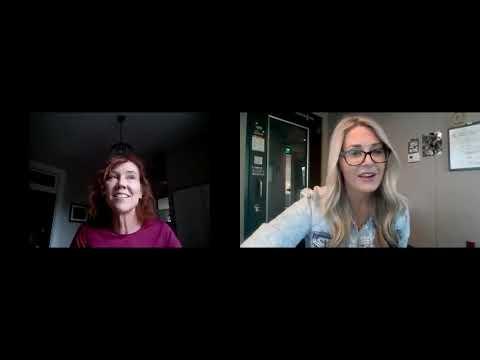 Mollie Chatting with ArtsWave VP Kathy Debrosse!