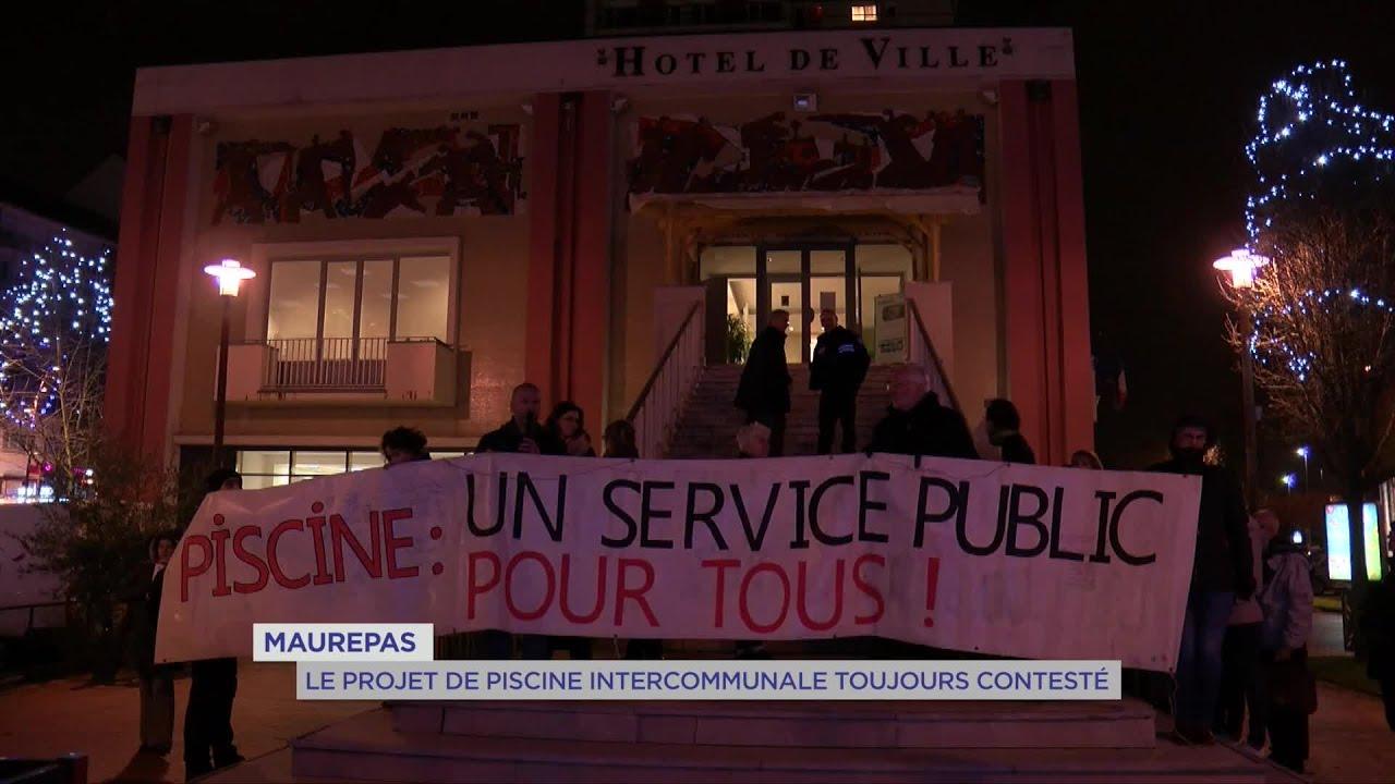 Yvelines   Maurepas : Le projet de piscine intercommunale toujours contesté