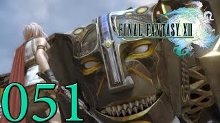 Let's Play Final Fantasy XIII German [Full HD] Part 51 - Barthandelus!