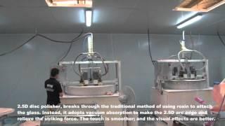 Технология и производство защитного стекла Ainy