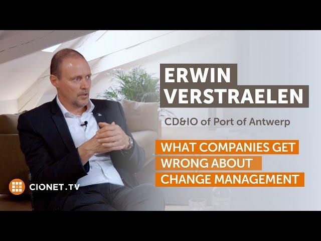 Erwin Verstraelen, Port Of Antwerp – Rebuilding The Dream Team