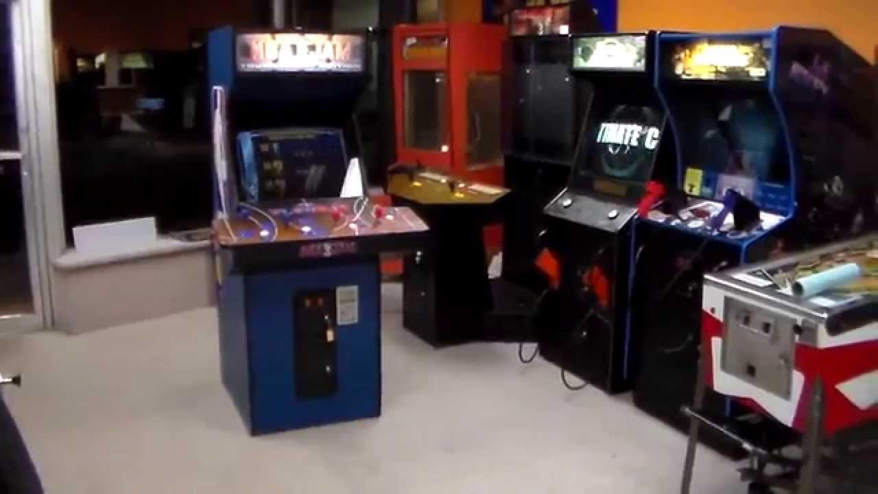 NBA Jam Tournament Edition Arcade Game ! - Conversion cabinet ...