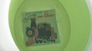 Pee‑kaboo Reusable Potty Training Sticker - Springtime & Let's Roll from Rahababy