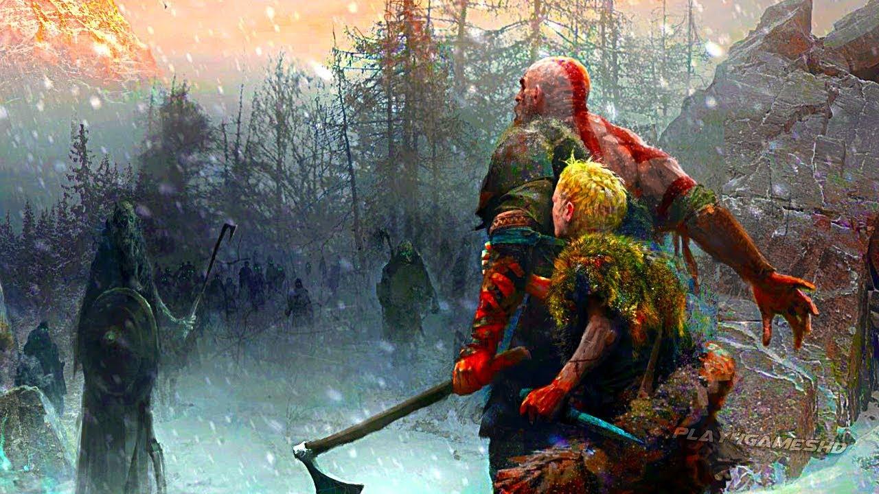 GOD OF WAR 4 - Atreus Story Trailer PS4 (2018) - YouTube
