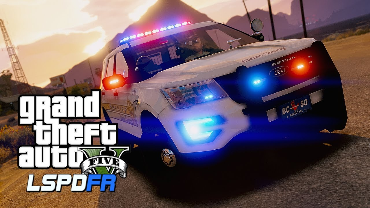 Gta 5 Lspdfr 34 Hot Pursuits Lspdfr Police Mod Bcso Patrol In A 2016 Fpiu Els