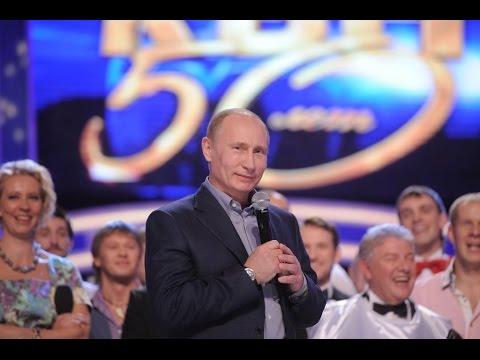 Видео, КВН Лучшие номера про Путина и Медведева Часть 1