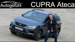 Seat Ateca Cupra Becomes New Cupra Ateca Review  - Autogefühl