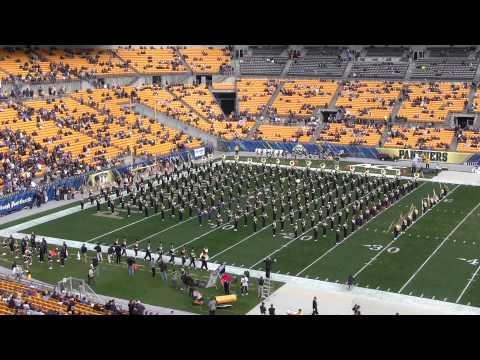 Pitt Band Pitt vs. North Carolina Pregame 11/16/2013