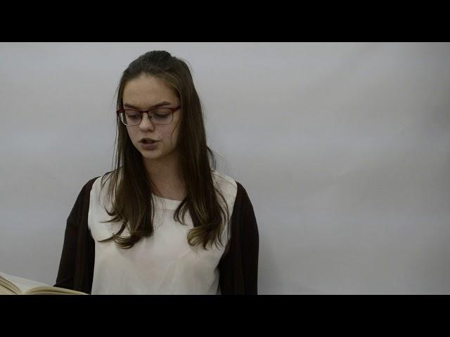 Изображение предпросмотра прочтения – АнгелинаШунина читает произведение «Уединение» М.И.Цветаевой