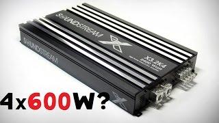 Самый мощный 4х канальник SOUND STREAM X3 2K4