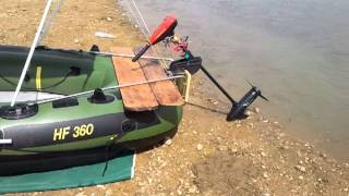 fish hunter hf 360 customizada by izabela roman
