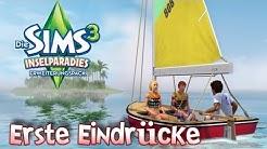 Die Sims 3 Inselparadies - Erste Eindrücke [Deutsch/HD/Gameplay]