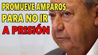 Sin fuero, Romero Deschamps promueve amparos para evitar cárcel