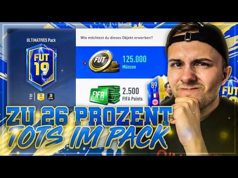 "FIFA 19: TOTS im PACK zu ""26%""...  😂 TOTS Lightning Rounds 🔥"