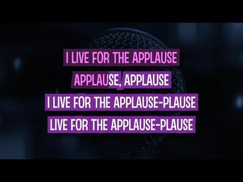 Applause Karaoke Version by Lady Gaga (Video with Lyrics)