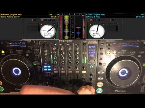 MR B2B Sheppz Deep/Tech House 1 Hour Mix February 2014 Pioneer CDJ 1000 & DJM 800