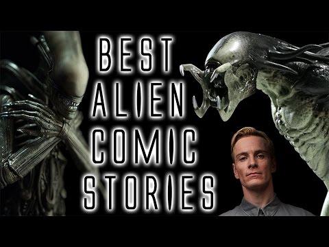 Best Alien Comic Stories!