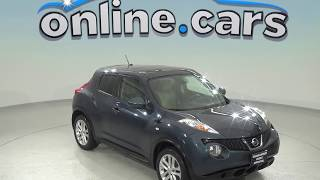 oA97719GT Used 2014 Nissan Juke SV AWD Blue Test Drive, Review, For Sale