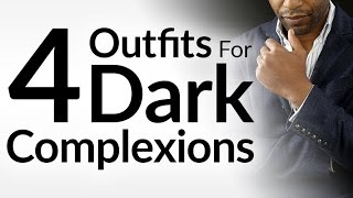 4 Outfit Ideas For Dark Complexions | Celebrity Style Series | Ashley Weston | Chiwetel Ejiofor