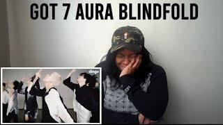 GOT7(갓세븐) - AURA(아우라) | Blindfolded choreography | 딩고뮤직 | Di…