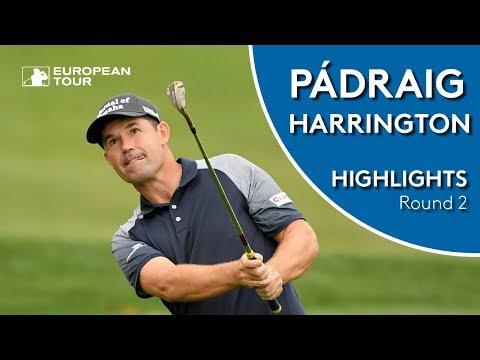 Pádraig Harrington Highlights | Round 2 | 2018 D+D Real Czech Masters