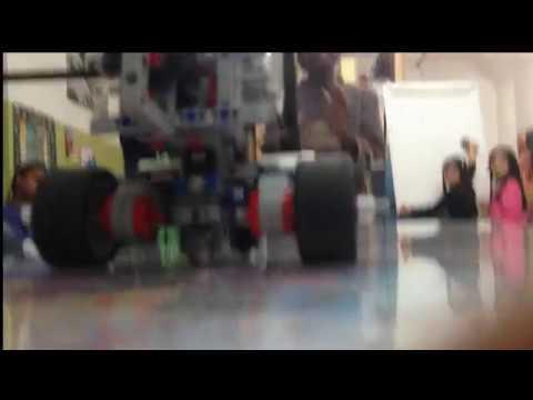 The ROC's Beginner LEGO Robotics | technic car vs EV3 car race