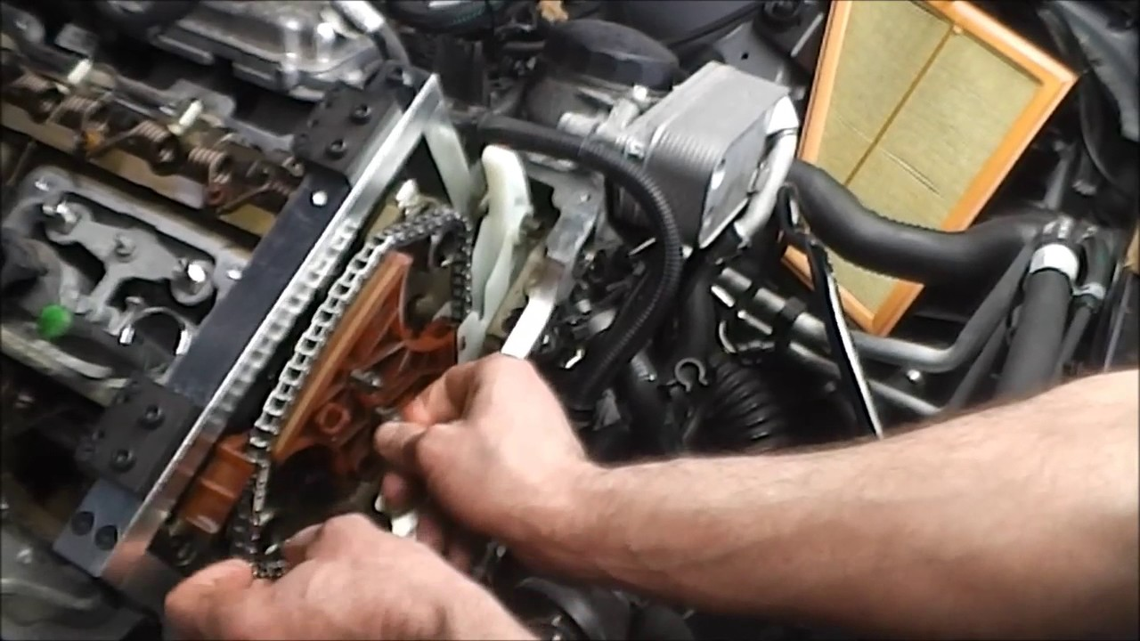 BMW N20 and N26 Engine Timing Chain and Guide Replacement