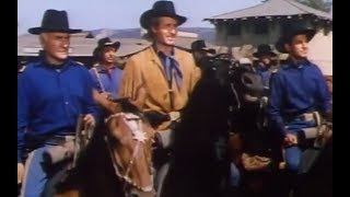Bugles in the Afternoon  Western 1952  Ray Milland, Helena Carter & Hugh Marlowe