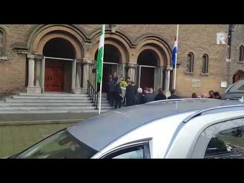 Begrafenis oud-premier Lubbers in kathedraal Rotterdam