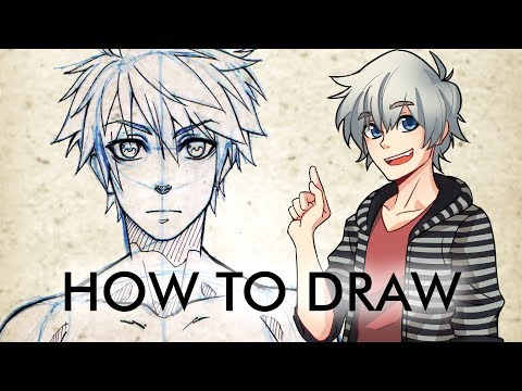 【how-to-draw】-male-manga-character