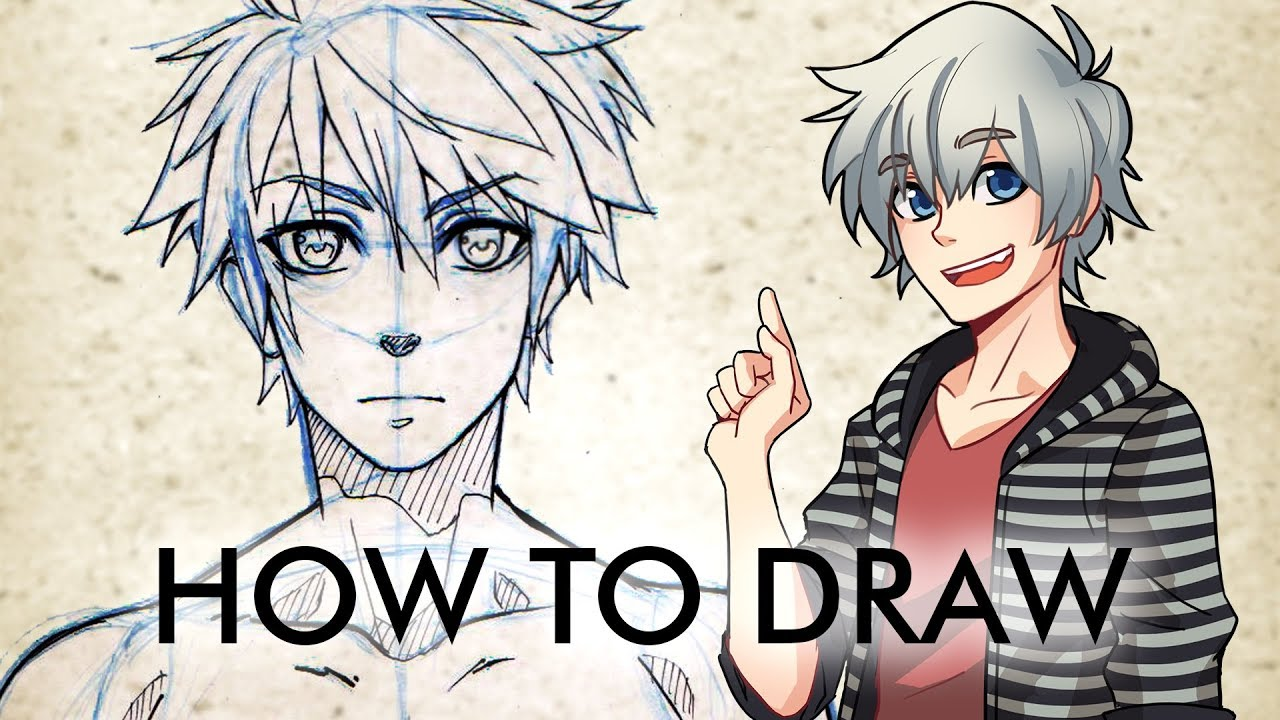 How To Draw Male Manga Character