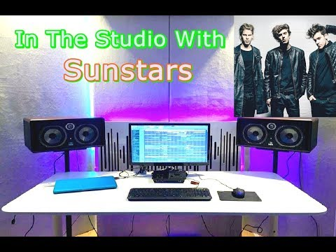 in The Studio With Sunstars For The Making Of.. (Fl Studio)