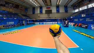 Волейбол от первого лица | VOLLEYBALL FIRST PERSON TRAINING | ZENIT ST. PETERSBURG | 2021 | Андреев